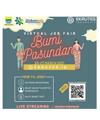 Virtual job fair bumi pasundang