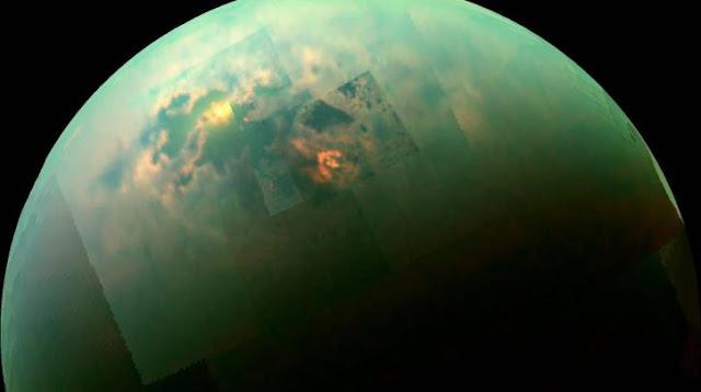 γιγάντιες αμμοθύελλες στον Τιτάνα του Κρόνου