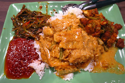 nasi padang Changi Airport T4 Food Emporium