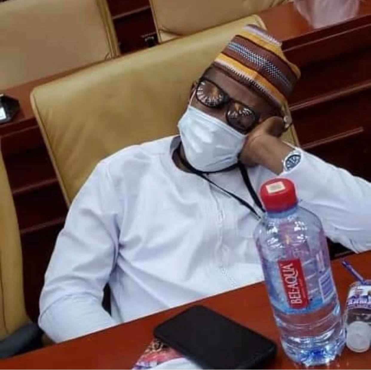 npp%2Bmps4 - Photos Of NPP MP Sleeping In Parliament After Reporting 4am To Take Over Majority Seat Pops Up