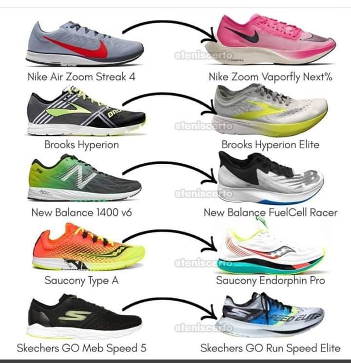 On recent shoe tech development following the launch of the
