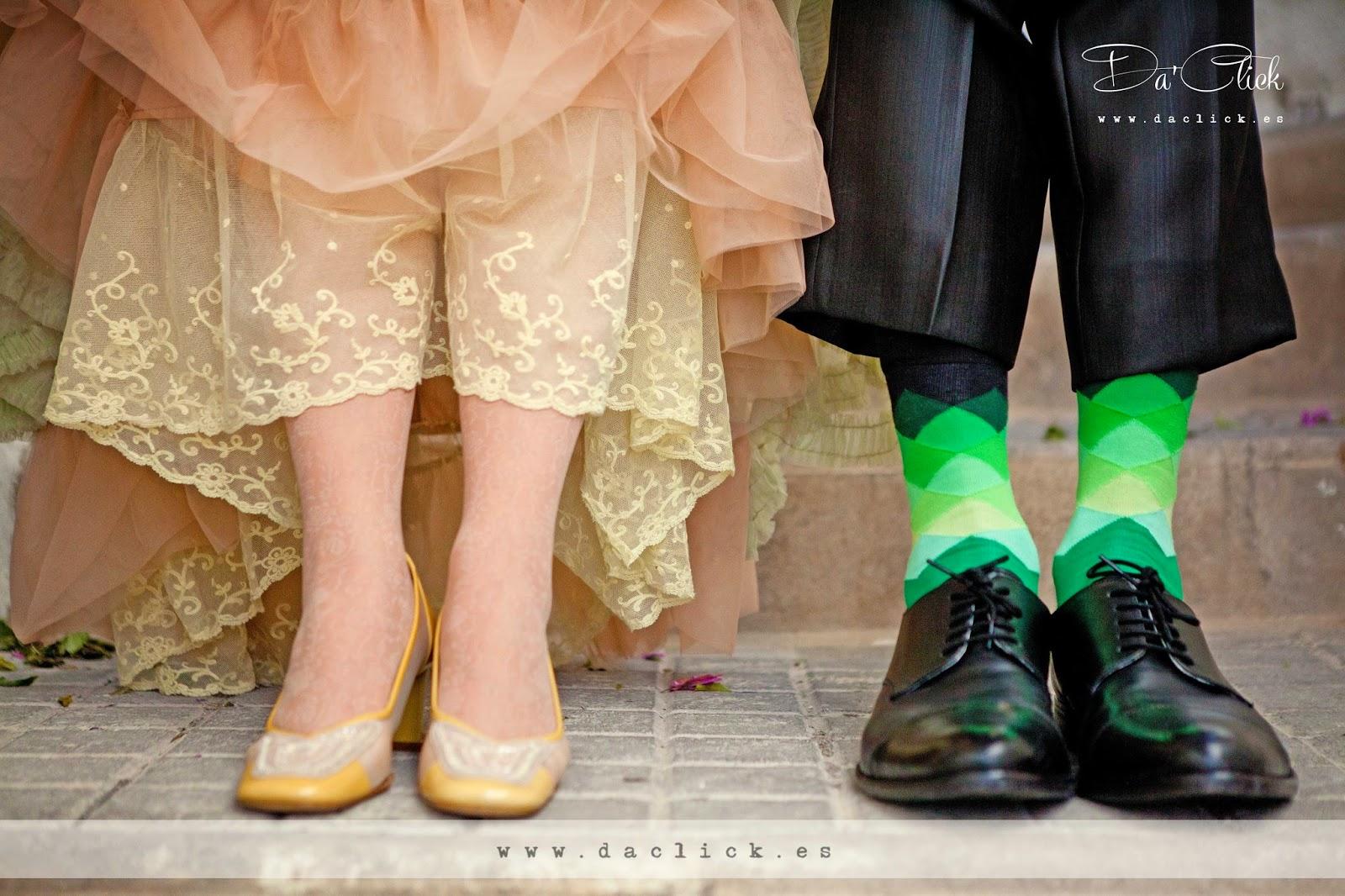 zapatos de novio y zapatos de novia