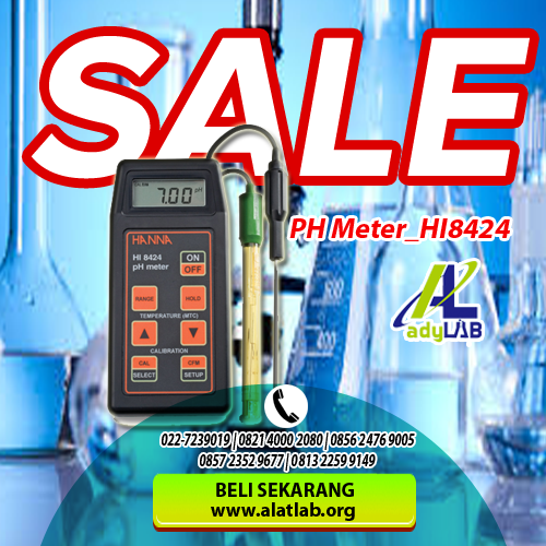 0821 4000 2080 Jual pH Meter Air Jogja Harga pH Meter Hanna Instrument Ady Water