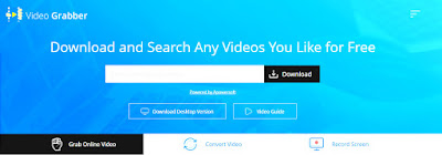 cara mendownload video di situs videograbber