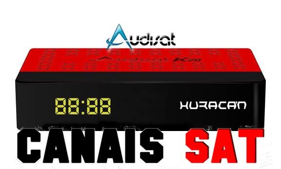 Audisat K20 Huracan Nova Atualização V2.0.37 - 27/09/2019