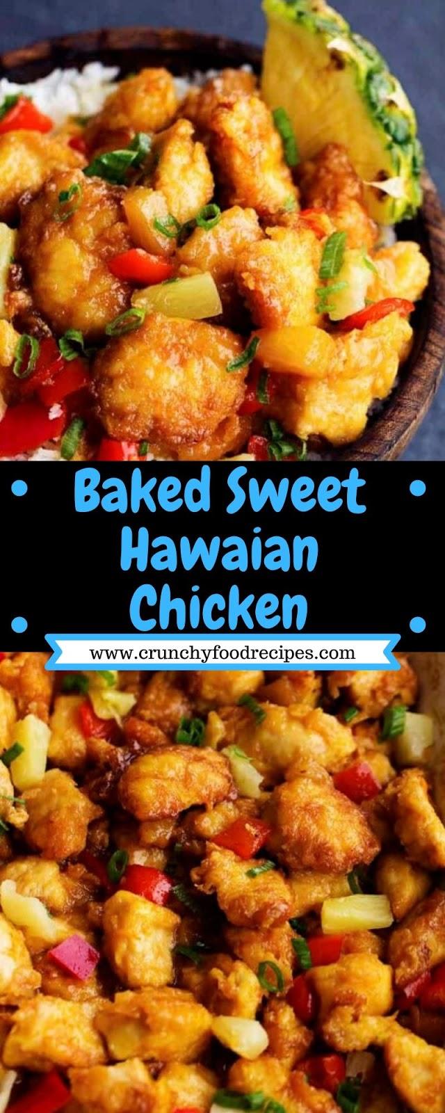 Baked Sweet Hawaian Chicken