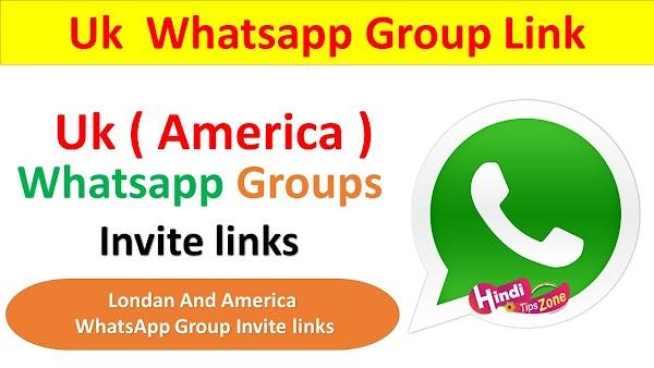 UK Whatsapp Group Link Join List 2019