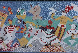 carnaval Brasil mural florianopolis