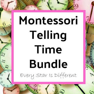 Montessori Telling Time Bundle
