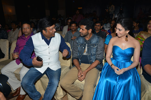 Abhinetri Telugu Movie Audio Launch Photos