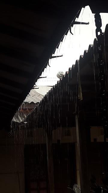 Hujan Guyur kota Jogja