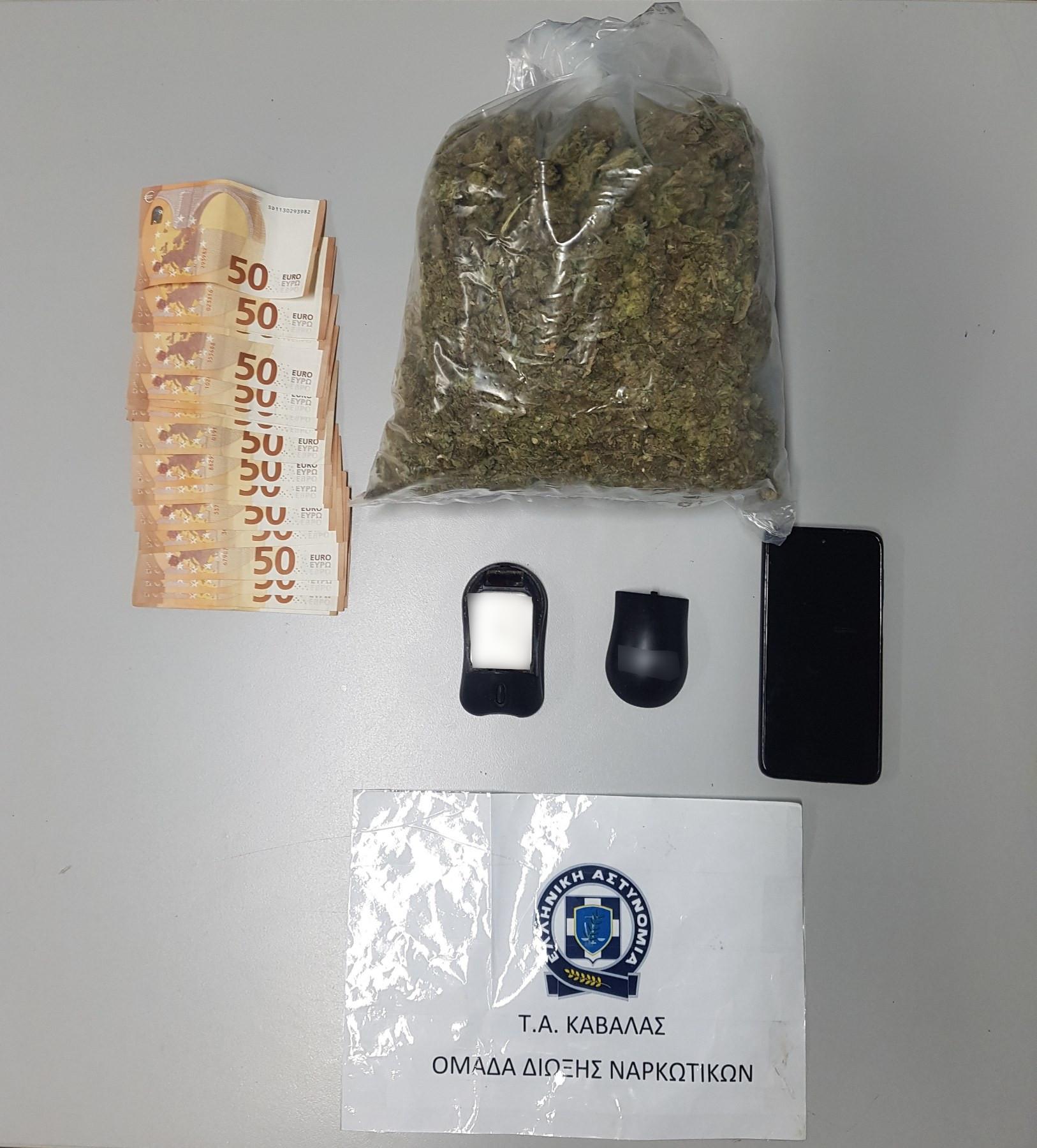 Αστυνομικοί από Καβάλα τον συνέλαβαν Θεσσαλονίκη για ναρκωτικά