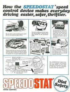 Speedostat Brochure