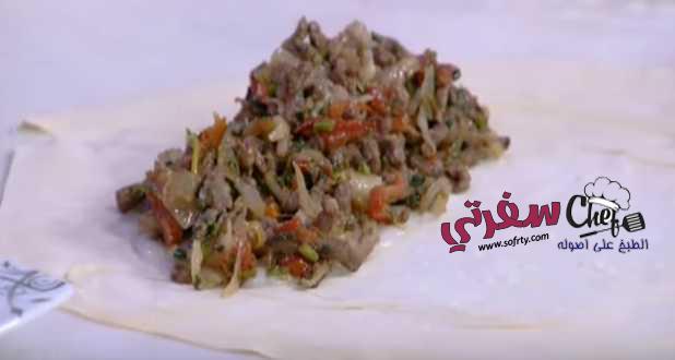 شاورما اللحم فتكات