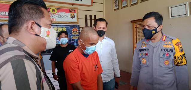 Uang Rp 400 Juta Milik Pengusaha DO Kepala Sawit Raib, Spesialis Perampok Nasabah Bank Diringkus Polisi