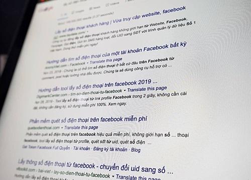 Số điện thoại bị 'ăn cắp' qua Facebook thế nào?