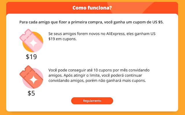 cupom aliexprees 70 reais