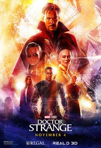 Doctor Strange 2016 Dual Audio ORG Hindi 480p BluRay x264 350MB ESubs