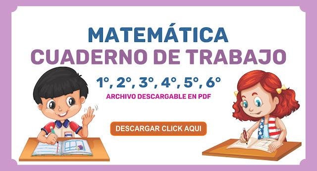 MATEMÁTICA CUADERNO DE TRABAJO