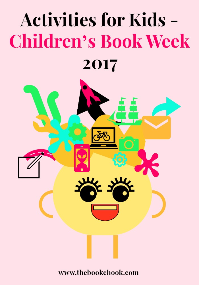 The book chook activities for kids children s book week for Art and craft books for kids