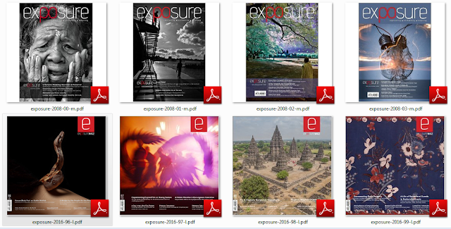 Majalah Exposure dari waktu ke waktu