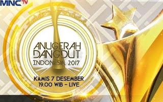 Daftar Lengkap Nominasi Anugerah Dangdut Indonesia 2017
