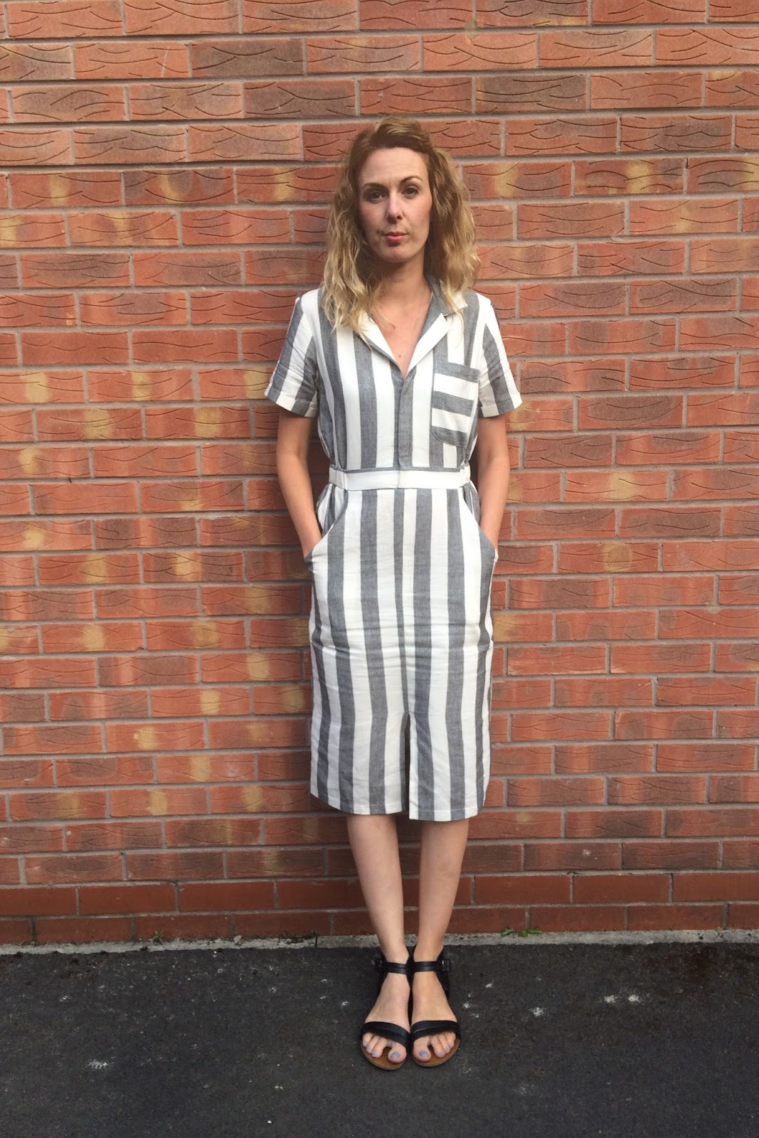 2123719ebce ASOS Stripe Shirt Dress - Outfit of the Day | A Stylish Something