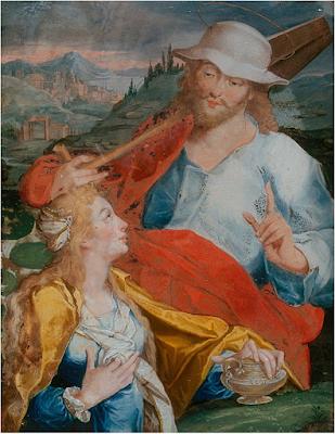 Jésus en Jardinier Apparait à Marie Madeleine (1734), Anna Maria barbara Abesch