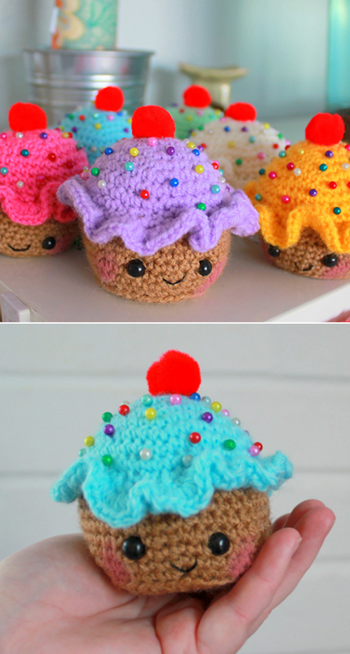 Cupcake Pincushion - Free Pattern