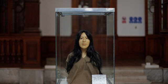 Face of ancient Peruvian noblewoman reconstructed