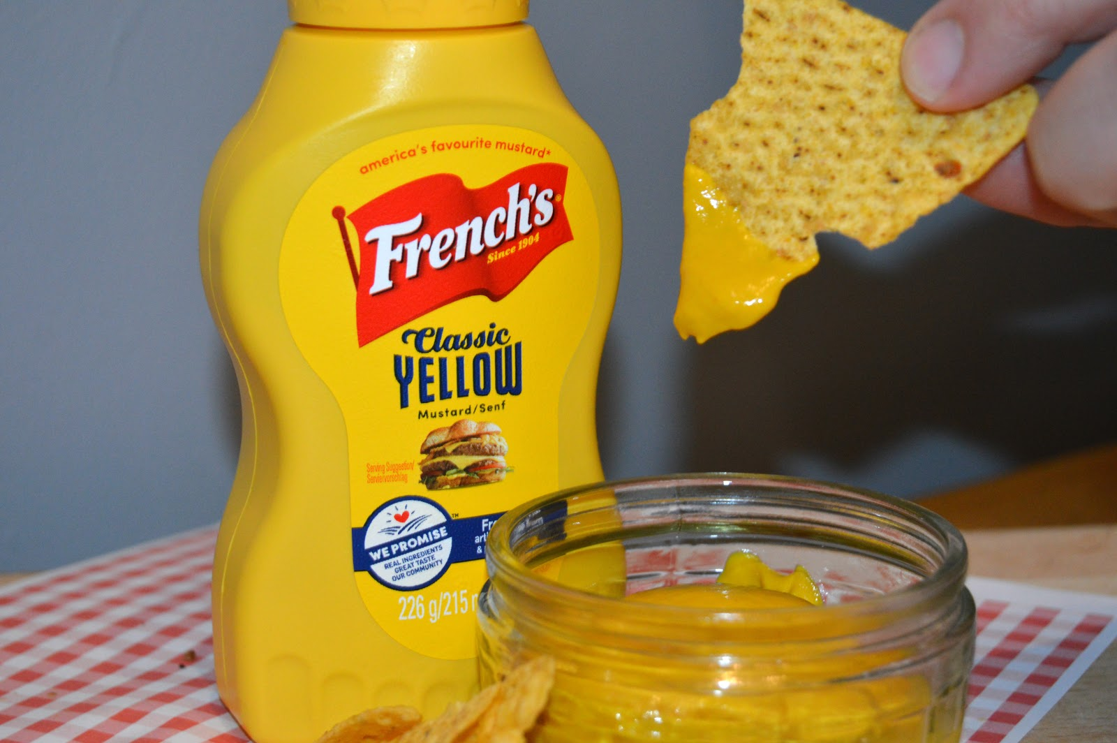 Making a Club Sandwich and French's Mustard