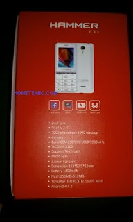 Spesifikasi Advan Hammer CT1 Android Harga 300an