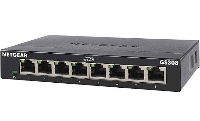 3. Netgear GS308