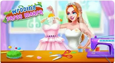 Game Menjahit - Wedding Dress Maker