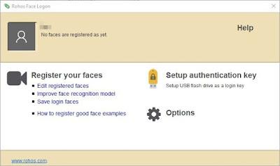 Rohos Face Logon 4.3 Full + Crack