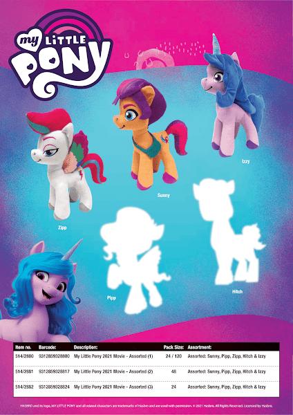 New G5 and G4 Pony Plushies Revealed From AU Based Hunter Leisure Catalogue