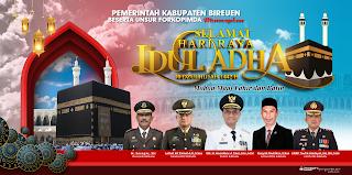 Design Billboard, Banner, Baliho Idul Adha 1442H /2021M