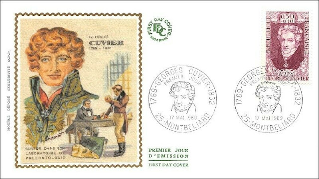Georges Cuvier FDC