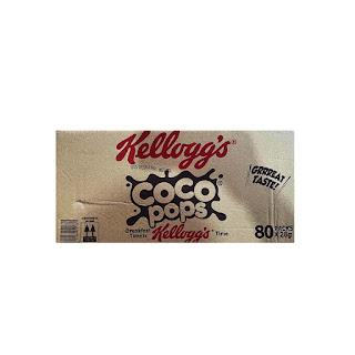 Kellogg's Coco Pops 28g x 80 on white background