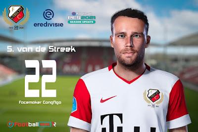 PES 2021 Faces Sander van de Streek by CongNgo