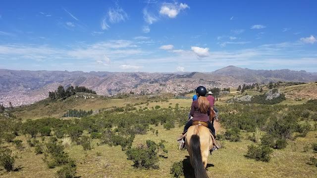Horseback riding in Cusco