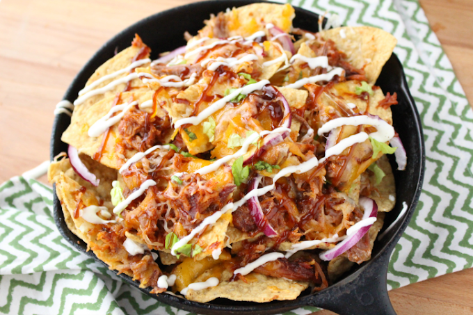 Pulled Pork Nachos #healthyfood #dietketo #breakfast #food