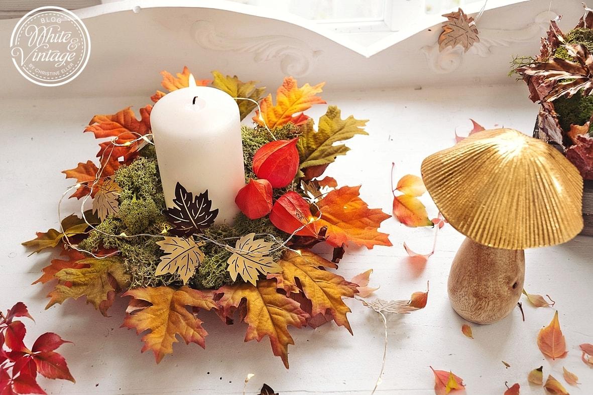Herbstdeko aus Naturmaterialien selber machen