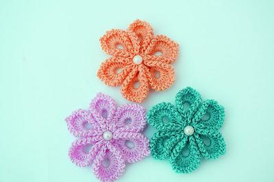 4 - Imagen Crochet Flor a crochet muy fácil y sencilla por Majovel Crochet