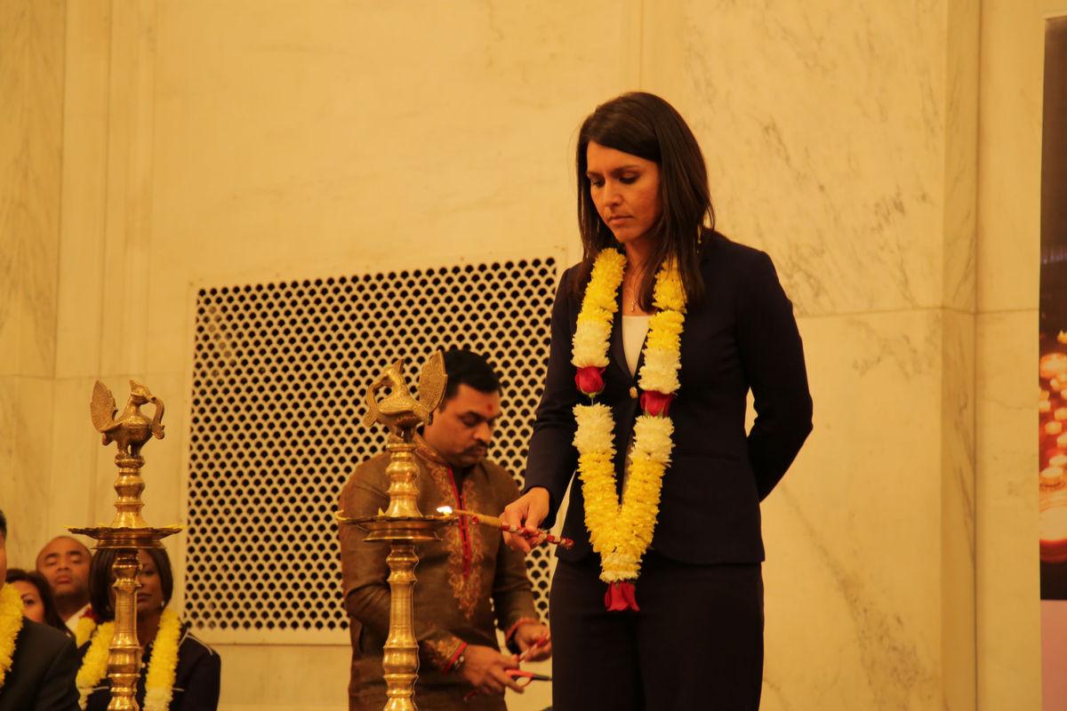 Tulsi Gabbard Named Chairperson of World Hindu Congress 2018