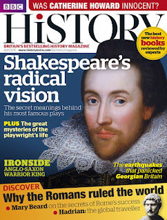 "BBC History Magazine on Writer Wednesday from Extra Ink Edits,Writing Consultant and Professional Freelance Editor Providing Editing Services for Writers including Query Critique and Help for ""Edit my Novel"""