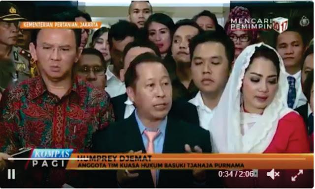 Wakil Ketua Umum PPP Humprey Djemat