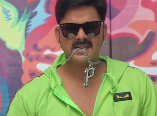 pawan singh stage show