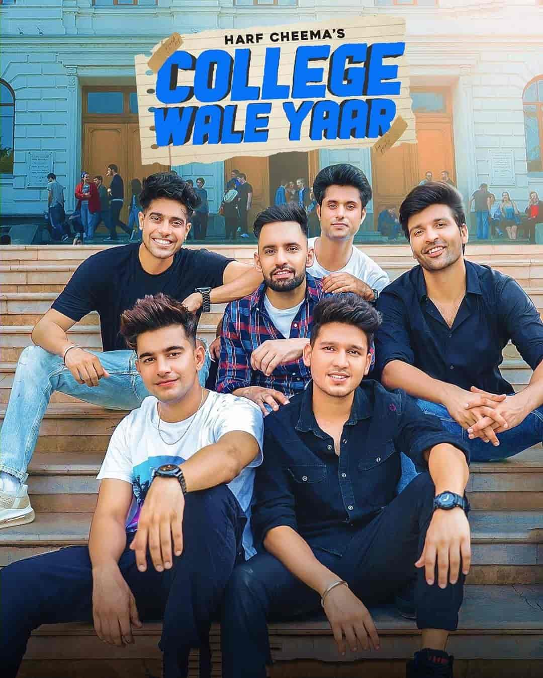 College Wale Yaar Punjabi Song Image By Harf Cheema