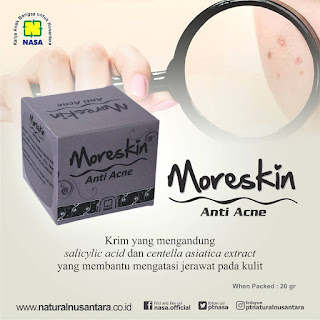 krim anti acne moreskin